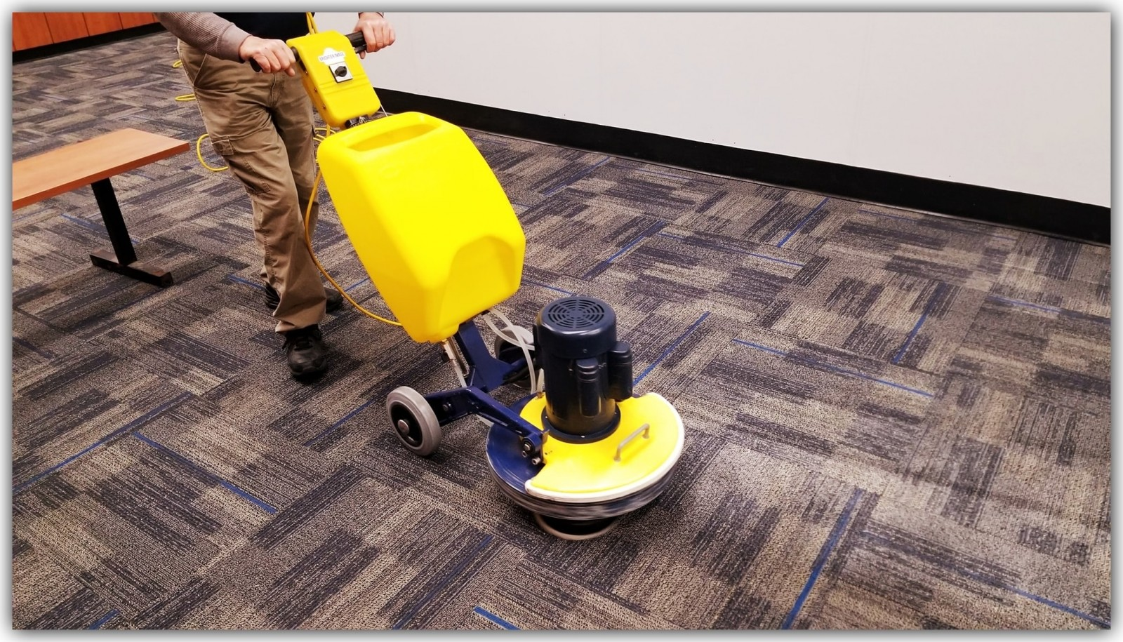 Low Moisture Commercial Carpet Cleaning