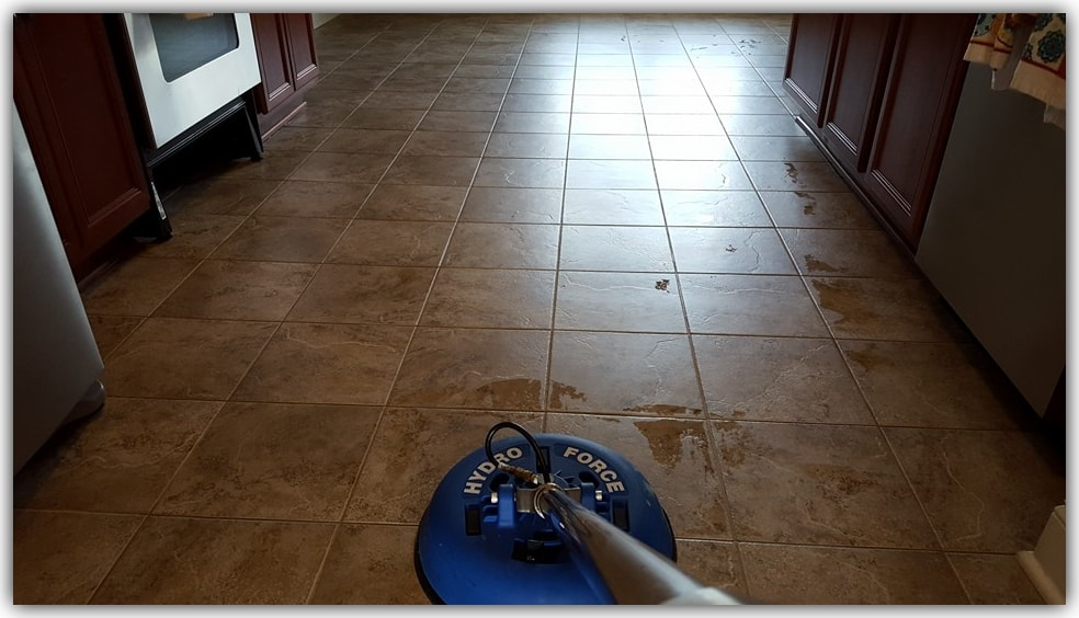 Professional Grout Cleaning-min