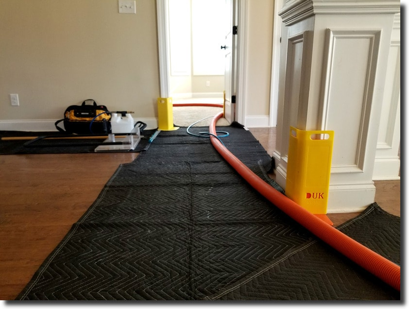 Carpet Cleaning - Corner Guards